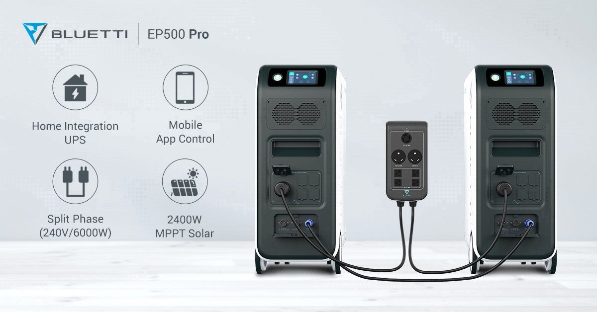 Looking for a Superior Portable Power Solution? Meet the Bluetti EP500 Pro