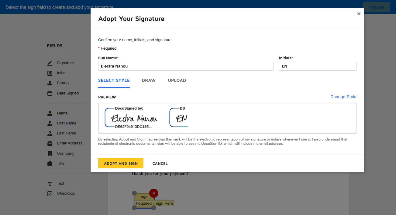 How to Sign a Document Online